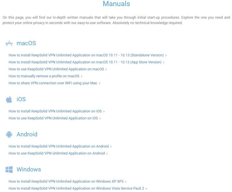 vpnunlimited manuals