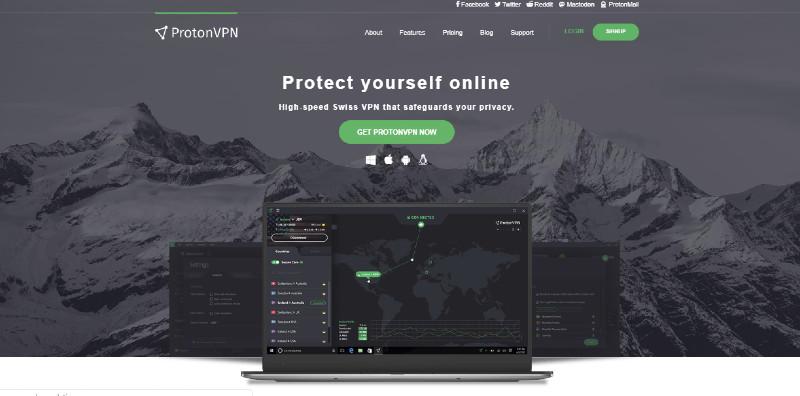 ProtonVPN Transparent