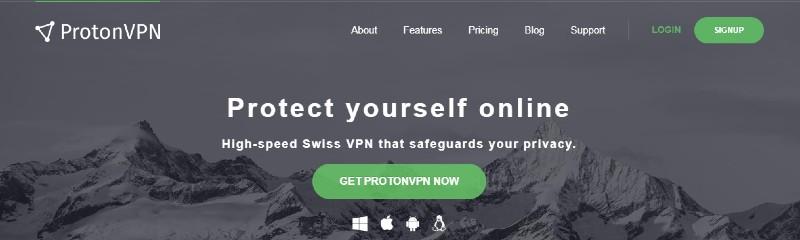 ProtonVPN Banner