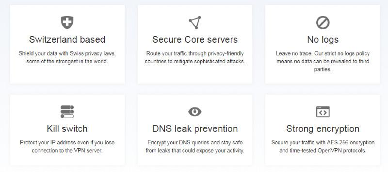 ProtonVPN Security
