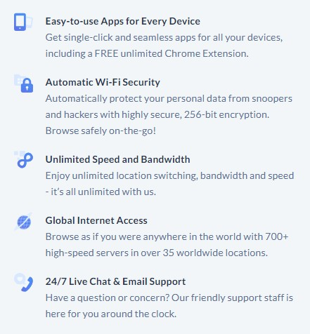 SaferVPN Security