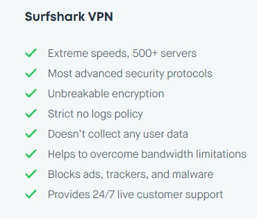 Surfshark Security