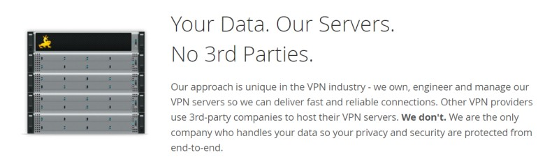 vyprvpn no 3rd parties