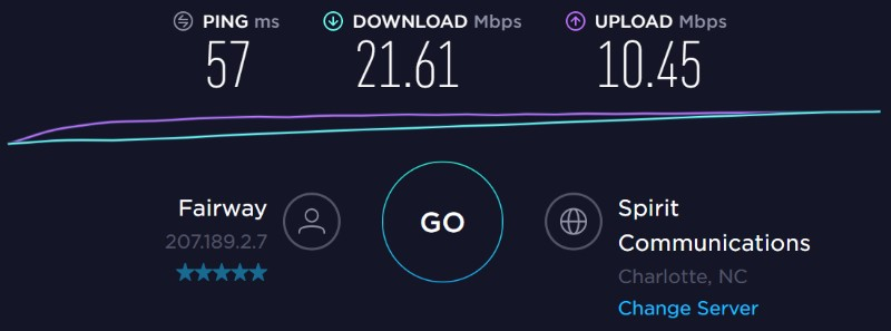 Windscribe test normal vpn charlotte