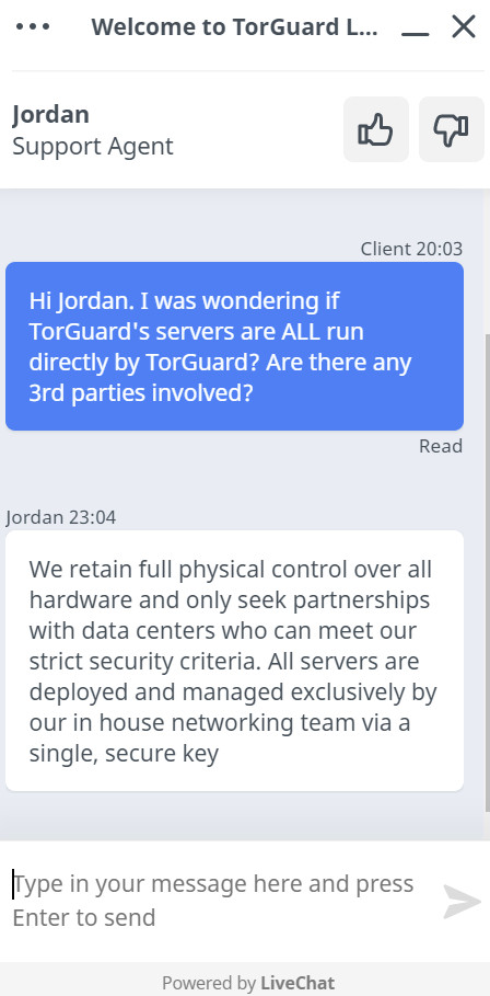 TorGuard chat1