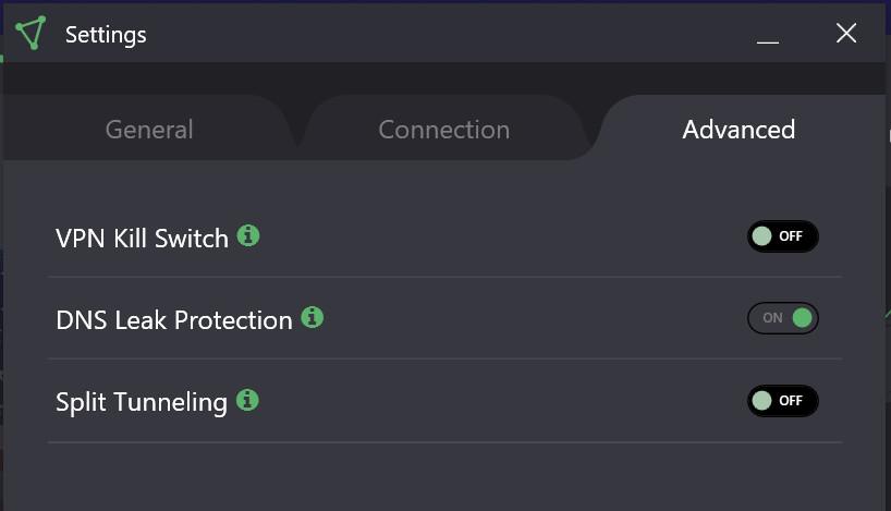 proton app settings