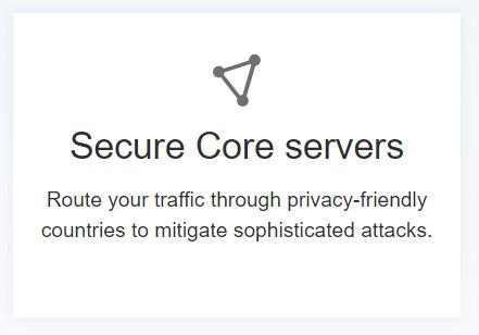 proton secure core server