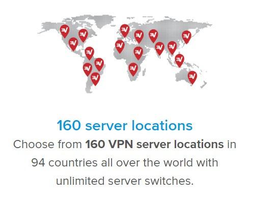 Serwer Express VPN