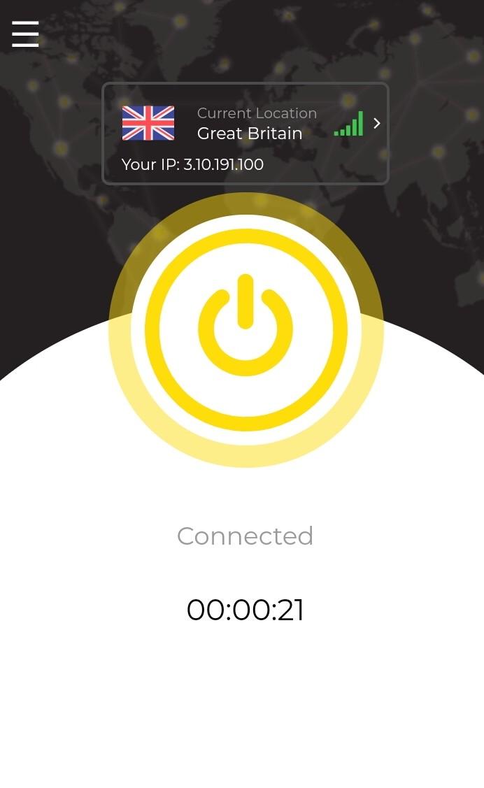 HotVPN.io Łatwość użycia