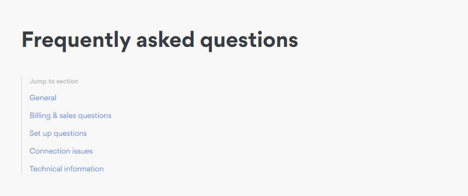 Nord FAQ