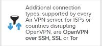 open vpn connection